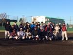 関東一高グランドで年末強化練習と体験練習会を行いました